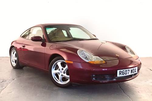 1998 Porsche 96 Carrera in superb condition. IMS and RMS upgraded SOLD (picture 1 of 6)