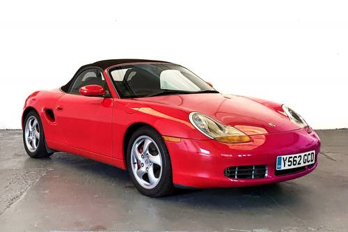 2001 Porsche Boxster S, low mileage modern classic SOLD (picture 1 of 6)