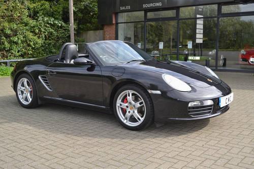 2008 Porsche Boxster 3.4S Auto/Tip Black? Black Leather SOLD (picture 2 of 6)