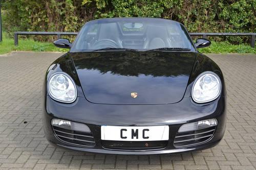 2008 Porsche Boxster 3.4S Auto/Tip Black? Black Leather SOLD (picture 3 of 6)