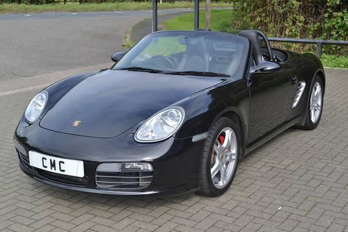 2008 Porsche Boxster 3.4S Auto/Tip Black? Black Leather SOLD (picture 4 of 6)