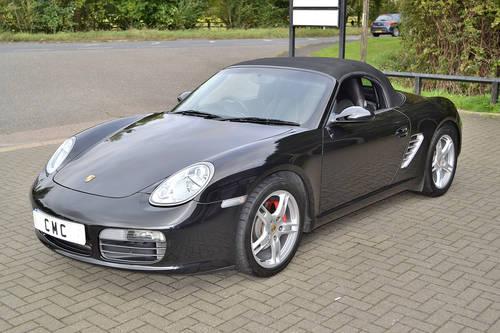 2008 Porsche Boxster 3.4S Auto/Tip Black? Black Leather SOLD (picture 6 of 6)