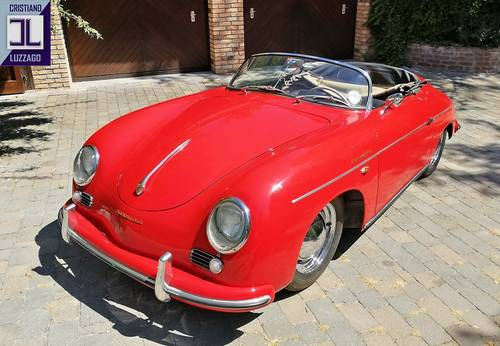 MATCHING NUMBERS  1955 (PRE A) 356 SPEEDSTER SOLD (picture 1 of 6)
