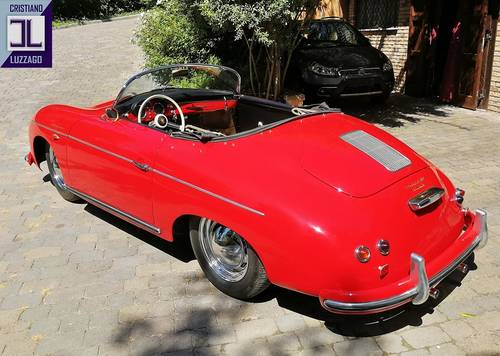 MATCHING NUMBERS  1955 (PRE A) 356 SPEEDSTER SOLD (picture 2 of 6)