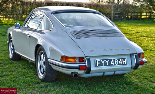 1970 Porsche 911S Left Hand Drive For Sale (picture 2 of 6)
