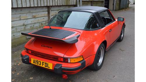 1983 Porsche 911 Carrera Targa - low ownership, excellent history For Sale (picture 3 of 6)