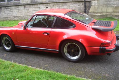 1985 Porsche 911  Carrera 3.2  Guards Red Manal 5 Speed . SOLD (picture 3 of 6)