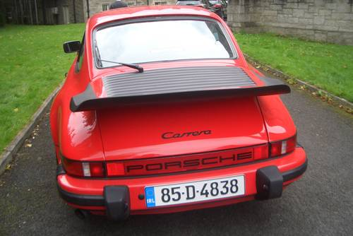 1985 Porsche 911  Carrera 3.2  Guards Red Manal 5 Speed . SOLD (picture 4 of 6)