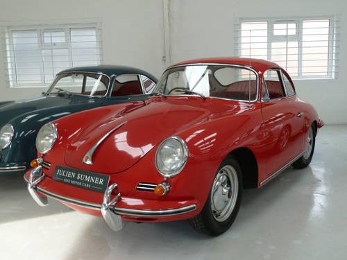 1962 RHD Porsche 356B Super T6 Coupe SOLD (picture 1 of 6)