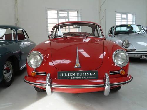 1962 RHD Porsche 356B Super T6 Coupe SOLD (picture 3 of 6)