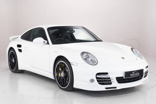 2010 PORSCHE 911 (997) TURBO S PDK COUPE SOLD (picture 1 of 6)