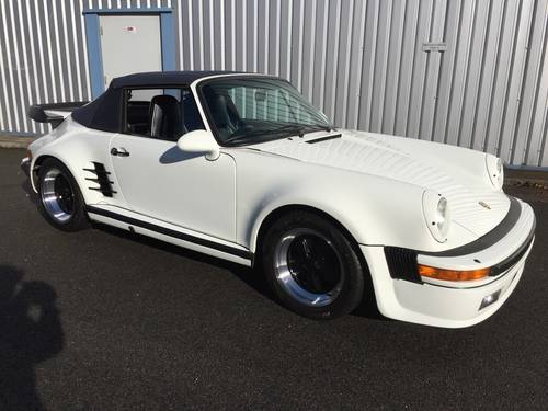 1988 PORSCHE 911 Turbo  Cabriolet SOLD (picture 1 of 6)