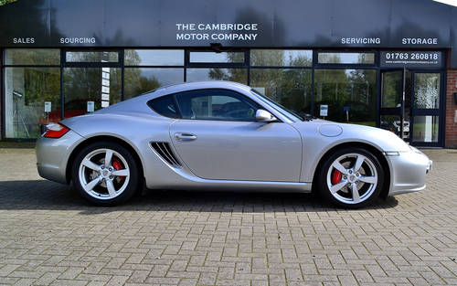 2008 Porsche Cayman 3.4S Auto / Tiptronic SOLD (picture 1 of 6)