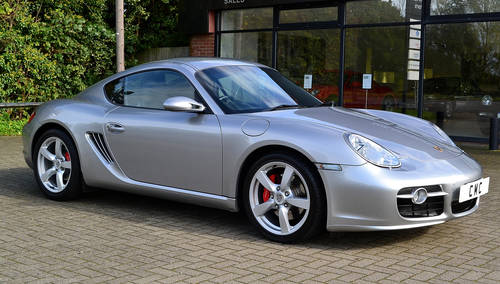 2008 Porsche Cayman 3.4S Auto / Tiptronic SOLD (picture 2 of 6)