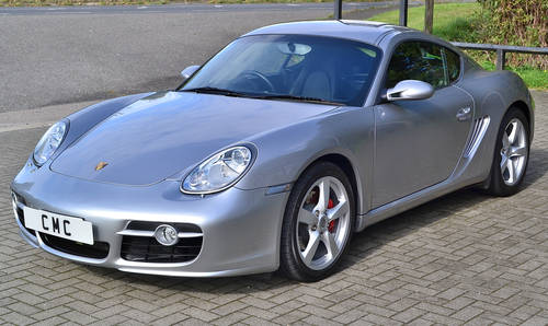 2008 Porsche Cayman 3.4S Auto / Tiptronic SOLD (picture 3 of 6)