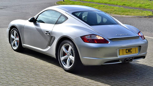 2008 Porsche Cayman 3.4S Auto / Tiptronic SOLD (picture 4 of 6)