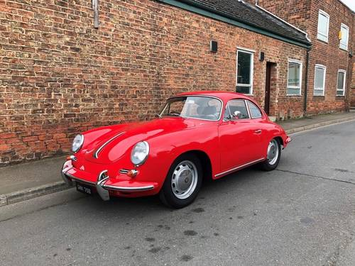 1964 PORSCHE 356C COUPE RHD, in immaculate condition SOLD (picture 1 of 6)
