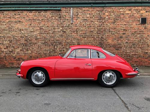 1964 PORSCHE 356C COUPE RHD, in immaculate condition SOLD (picture 2 of 6)