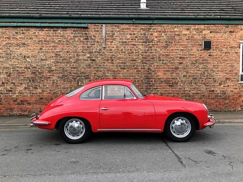 1964 PORSCHE 356C COUPE RHD, in immaculate condition SOLD (picture 3 of 6)