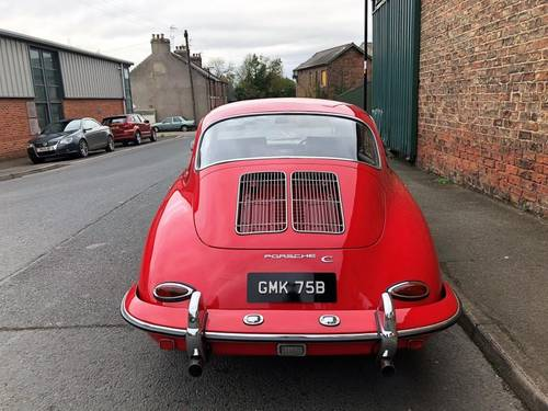 1964 PORSCHE 356C COUPE RHD, in immaculate condition SOLD (picture 4 of 6)