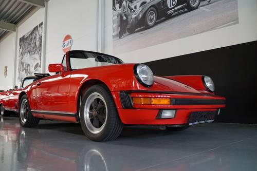 PORSCHE 911 3.2 Carrera Convertible top condition ! (1986) For Sale (picture 2 of 6)