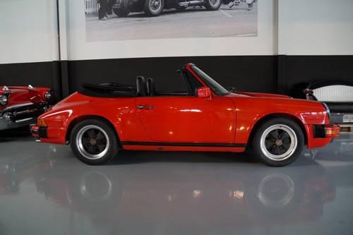 PORSCHE 911 3.2 Carrera Convertible top condition ! (1986) For Sale (picture 3 of 6)