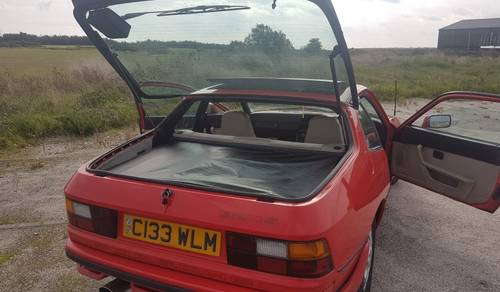 1986 Porsche 924 Coupe to be sold October 28th SOLD by Auction (picture 6 of 6)