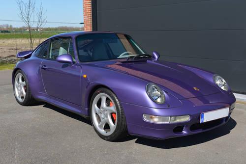 1995 Porsche 993 Turbo -- Only 45,000 km -- unique For Sale (picture 1 of 6)