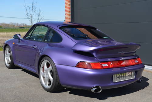 1995 Porsche 993 Turbo -- Only 45,000 km -- unique For Sale (picture 2 of 6)
