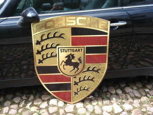Porsche very large 92cm x70cm garage sign For Sale (picture 2 of 2)