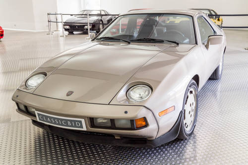 1982 Porsche 928 LHD *11 may* CLASSICBID AUCTION For Sale by Auction (picture 1 of 6)