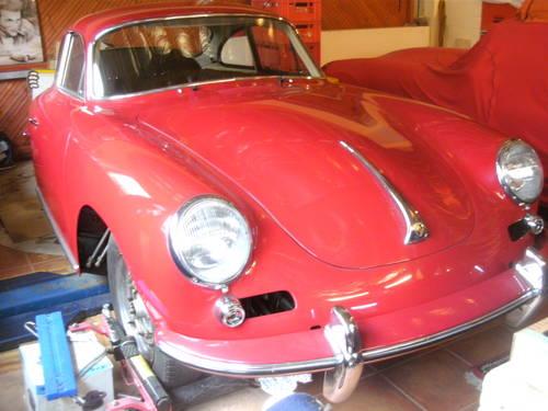 1962 Porsche 356 Carrera 2 B 2000 GS sunroof For Sale (picture 1 of 4)
