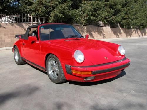 1987 Porsche 911 3.2 Carrera Cabriolet  For Sale (picture 1 of 5)
