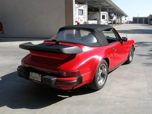 1987 Porsche 911 3.2 Carrera Cabriolet  For Sale (picture 3 of 5)