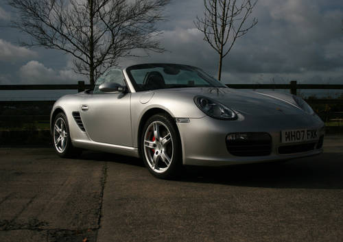 2007 PORSCHE BOXSTER S 987 SOLD (picture 1 of 6)