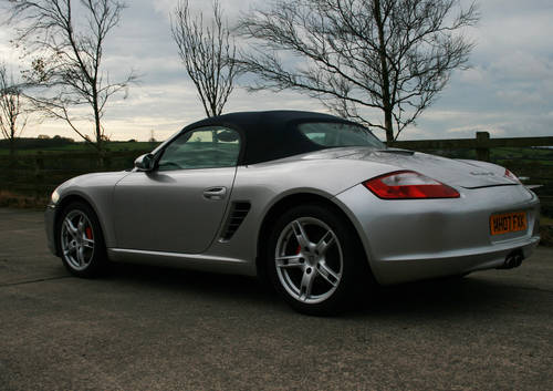 2007 PORSCHE BOXSTER S 987 SOLD (picture 6 of 6)