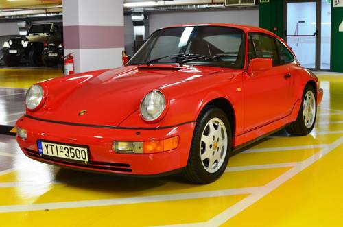 1991 964 Carrera 4 LHD  SOLD (picture 1 of 6)
