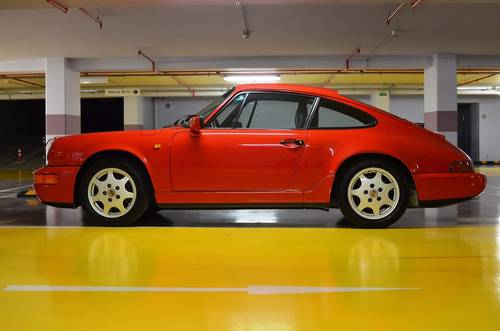 1991 964 Carrera 4 LHD  SOLD (picture 2 of 6)