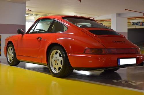 1991 964 Carrera 4 LHD  SOLD (picture 6 of 6)