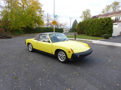 1975 Porsche 914 Targa 1.8 Ltr A Driver - SOLD (picture 1 of 6)