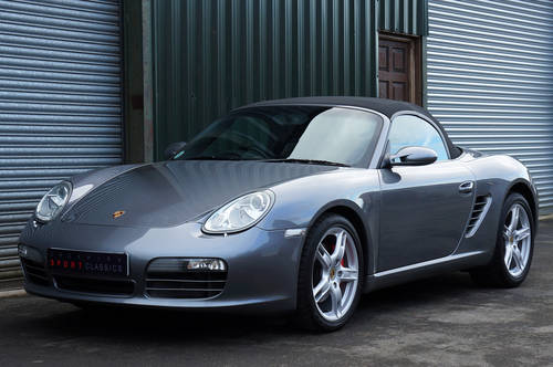 2005 Porsche Boxster 3.2 S manual, 52k, Grey, FSH, OPC Warranty. SOLD (picture 3 of 6)