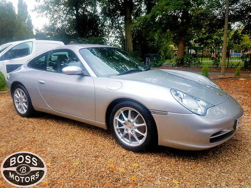 2003 Porsche 911 Carrera S 3.6 Sport Auto Tip-Tronic Silver For Sale (picture 1 of 6)
