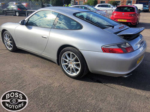 2003 Porsche 911 Carrera S 3.6 Sport Auto Tip-Tronic Silver For Sale (picture 4 of 6)