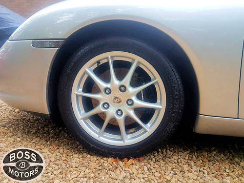 2003 Porsche 911 Carrera S 3.6 Sport Auto Tip-Tronic Silver For Sale (picture 5 of 6)