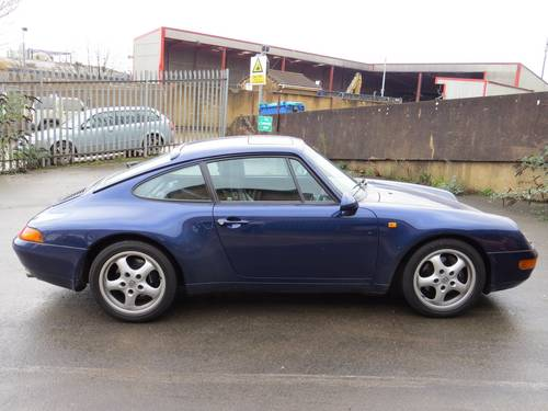 1995 Porsche 911 993 Carerra 3.6 Tiptronic S Coupe For Sale (picture 1 of 6)