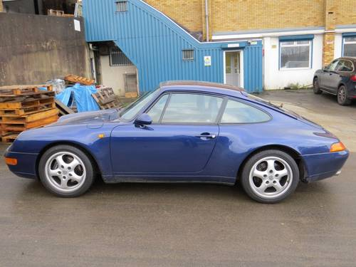 1995 Porsche 911 993 Carerra 3.6 Tiptronic S Coupe For Sale (picture 6 of 6)