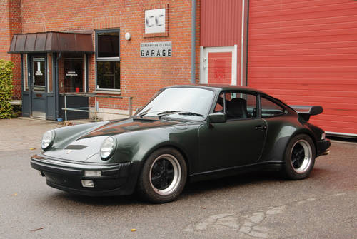 1980 Porsche 911 (930) Turbo LHD SOLD