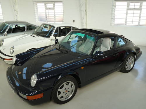 1992 Porsche 964 C4 Manual - Exceptional Example SOLD (picture 2 of 6)