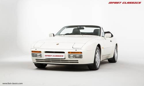 1989 Porsche 944 S2 Cab // 8k miles // 1 previous Owner SOLD (picture 2 of 6)