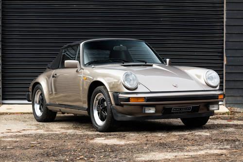 1984 Porsche 911 Carrera 3.2 Cabriolet SOLD (picture 1 of 6)